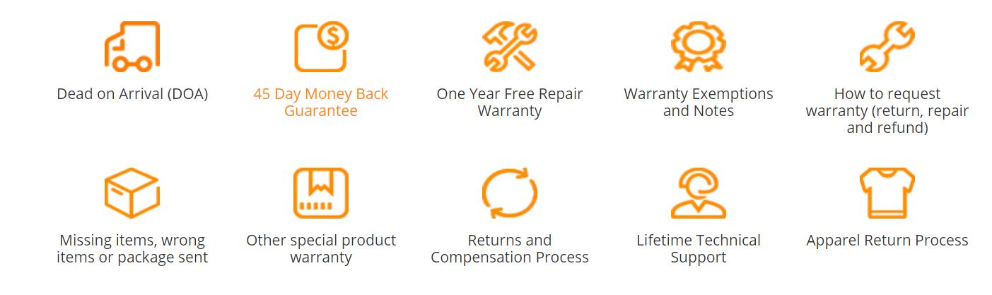 Gearbest Service Kundenbewertung