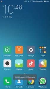 Mi4 mit MIUI V7 Android 6 3 169x300