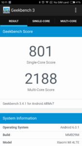 Xiaomi Mi4 Geekbench 3 169x300