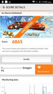Doogee F5 3D Benchmark