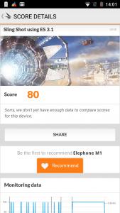 3DMark Elephone M1