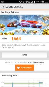 Blackview BV2000 3DMark