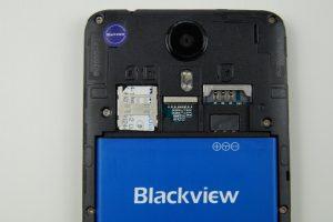 Blackview BV2000 Empfang