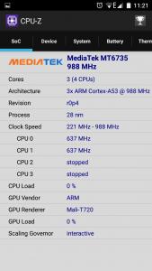 Doogee Y200 CPU GPU