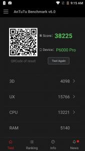 Elephone P6000 Pro Antutu Benchmark