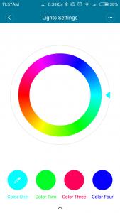 Xiaomi ninebot Mini App Farbauswahl
