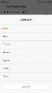 Xiaomi Redmi 3 Benachrichtigungs-LED Status-LED
