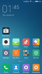 Xiaomi Redmi 3 UI MIUI Interface (2)