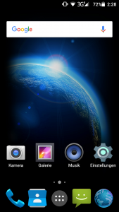 Stock Android System Vanilla Bluboo X9 (2)