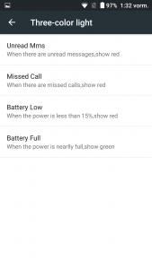 Ulefone Power Benachrichtigungs-LED