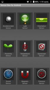 Ulefone Power Sensoren Sensorbox