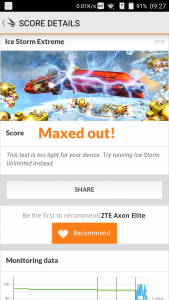 ZTE Axon Elite 3D Mark Benchmark (1)