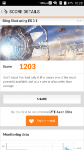 ZTE Axon Elite 3D Mark Benchmark (2)