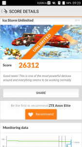 ZTE Axon Elite 3D Mark Benchmark (4)