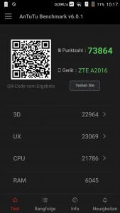 ZTE Axon Elite Antutu Benchmark 169x300
