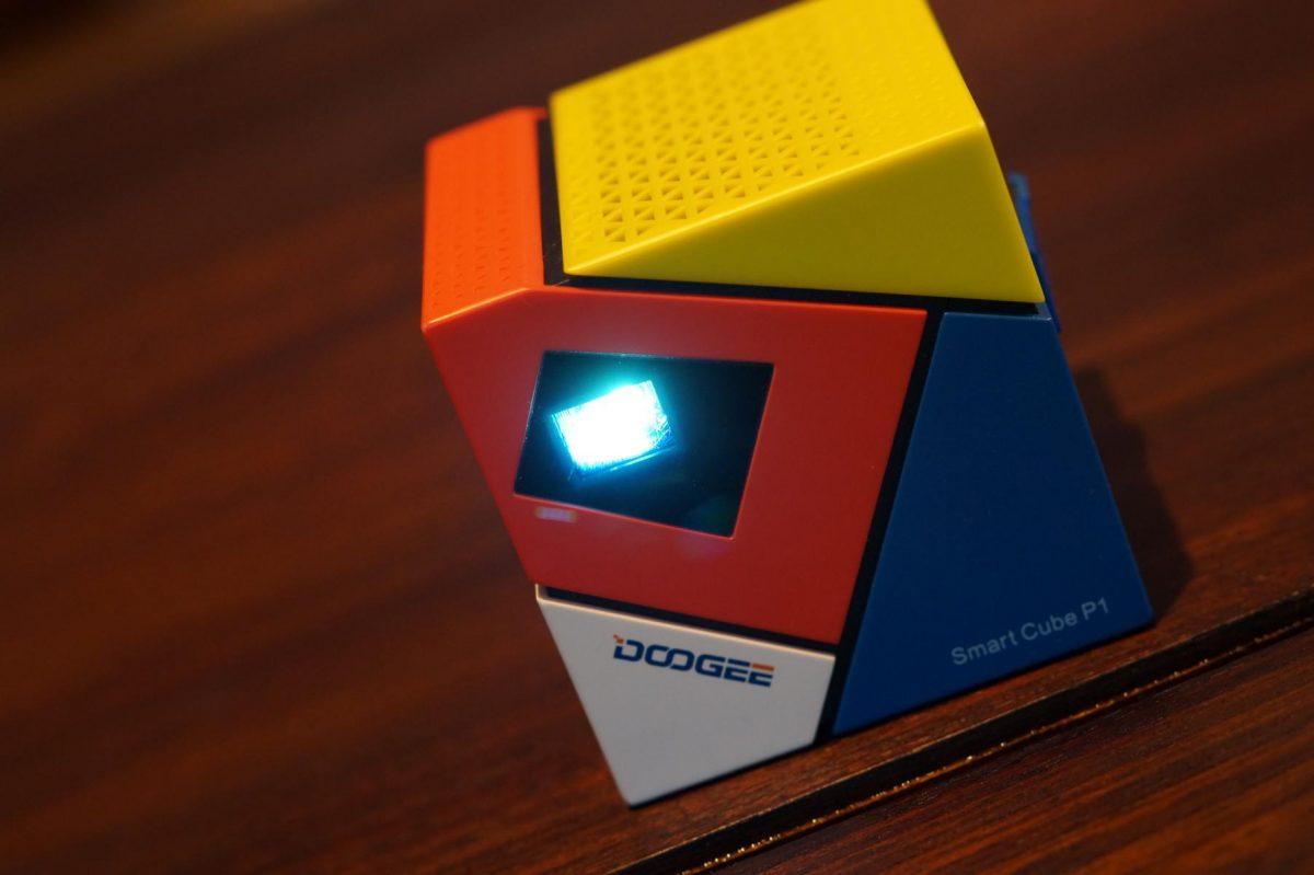 Doogee Cube P1 Mini Beamer Projektor Android (4)