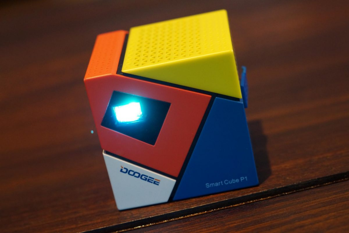 Doogee Cube P1 Mini Beamer Projektor Android (5)