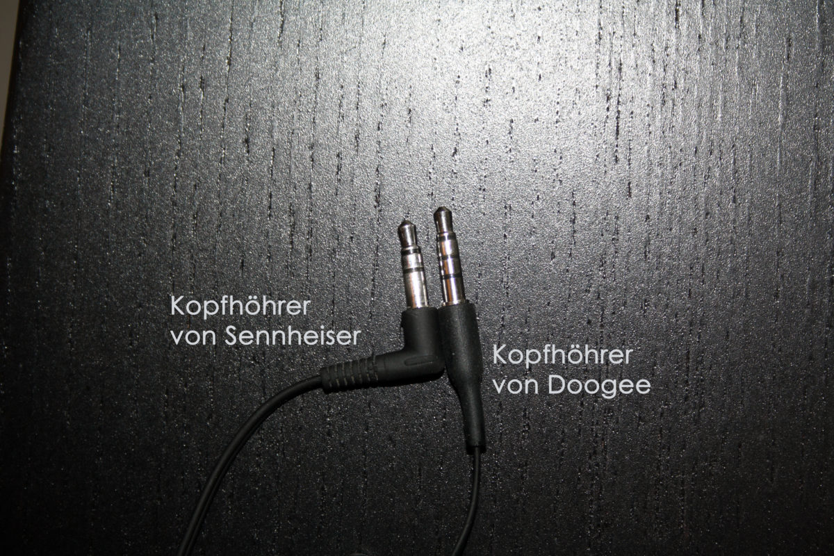Vergleich Headsetjack