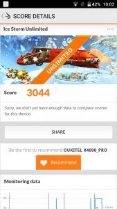 Oukitel K4000 Pro 3D Mark
