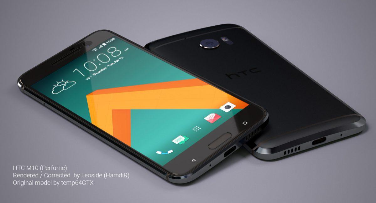HTC 10 Perfume Rendering