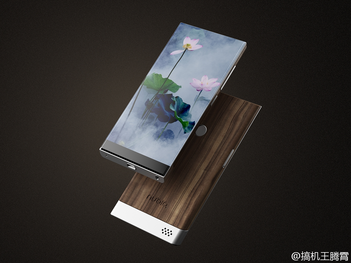 Nubia bezel less concept phone2