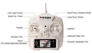 Tarantua Spieder Remote Control Fernbedienung 300x172