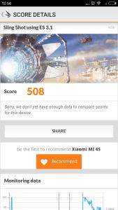 Xiaomi Mi4S 3D Mark1
