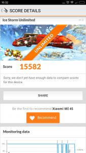Xiaomi Mi4S 3D Mark2