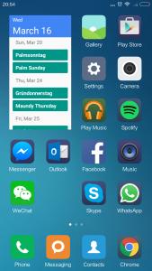 Xiaomi Mi4S Launcher