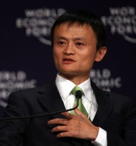 Quelle: Jack Ma Yun - Annual Meeting of the New Champions Tianjin 2008