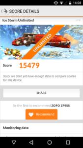 Zopo Speed 8 3DMark 2 169x300