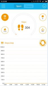 Iwown i5 Zeroner App (2)