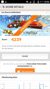 Phicomm Energy 2 3DMark