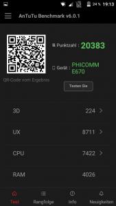 Phicomm Energy 2 Antutu Benchmark