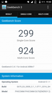 Phicomm Energy 2 Geekbench 3