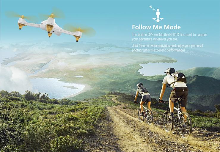 Hubsan X4 Follow Me