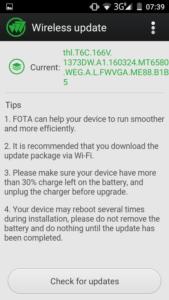 THL T6C OTA Updates
