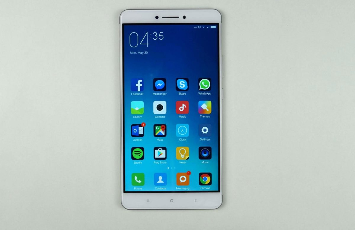 Xiaomi Max Display