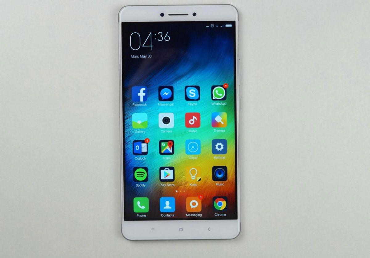 Xiaomi Max groß