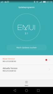 Huawei GX8 OTA Updates