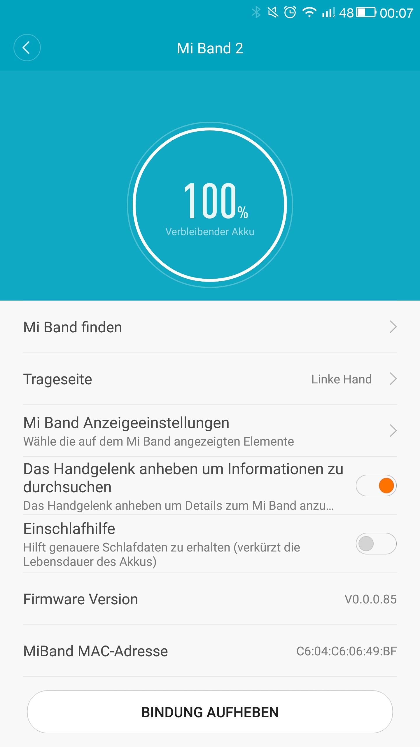 Mi Band 2 Mi Fit App (11)