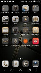 ZTE Axon Mini Android Oberfläche (1)