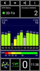 ZTE Blade V7 Lite GPS Test Fix 169x300