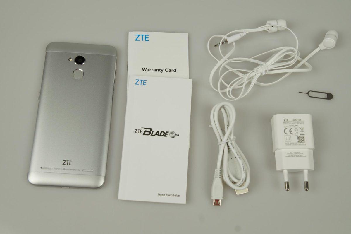 ZTE Blade V7 Lite Lieferumfang 1200x799