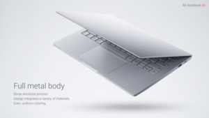 Xiaomi Mi Notebook Air Dsign Verarbeitung