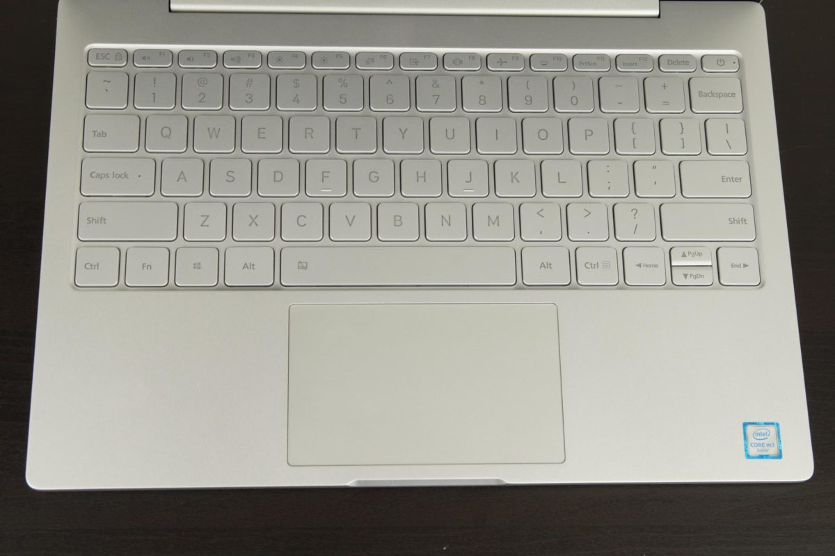 Xiaomi Mi Notebook air Touchpard Tastatur 1200x799