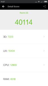 Xiaomi Redmi 3S Antutu Benchmark