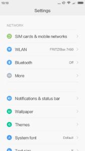 Xiaomi Redmi 3S MIUi V8 V7 (2)