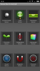 Xiaomi Redmi 3S Sensoren