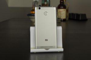 Xiaomi Redmi 3S Verarbeitung Fingerabdrucksensor
